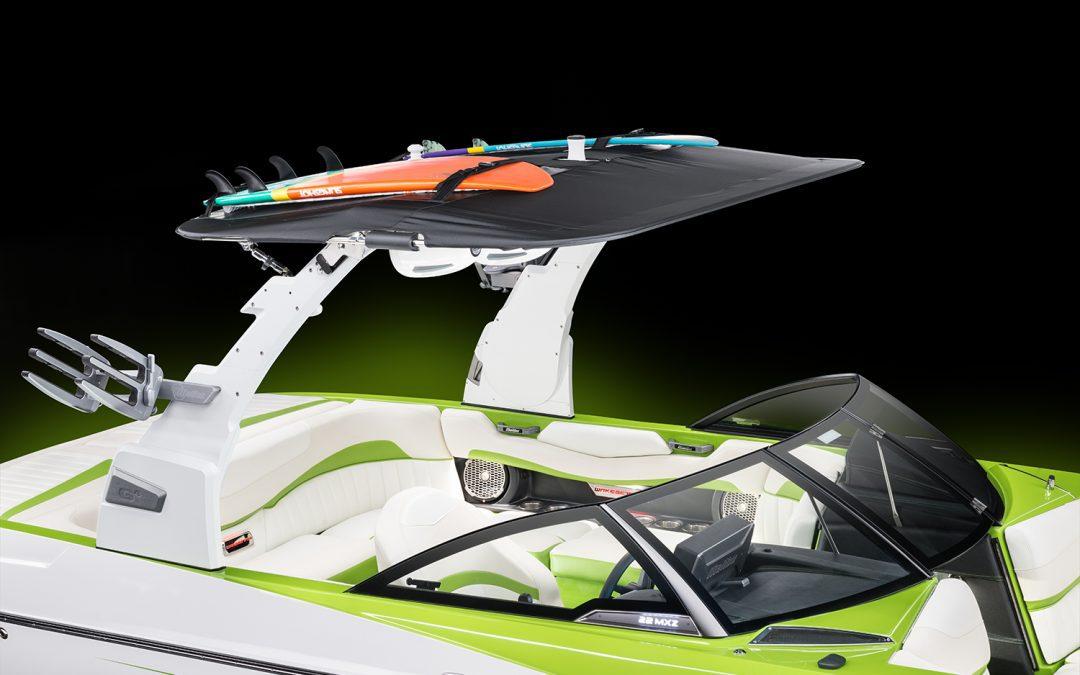 Pistol Bimini Top w/ Surf Storage