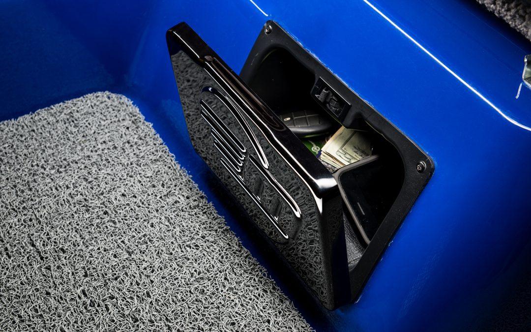 Driver Seat Dry Storage Box
