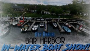 Bar Harbor In Water Boat Show on Gull Lake