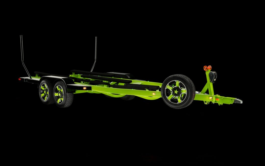 Tricked Out Trailer w/Rockstar 18″ Wheels w/Matching Spare