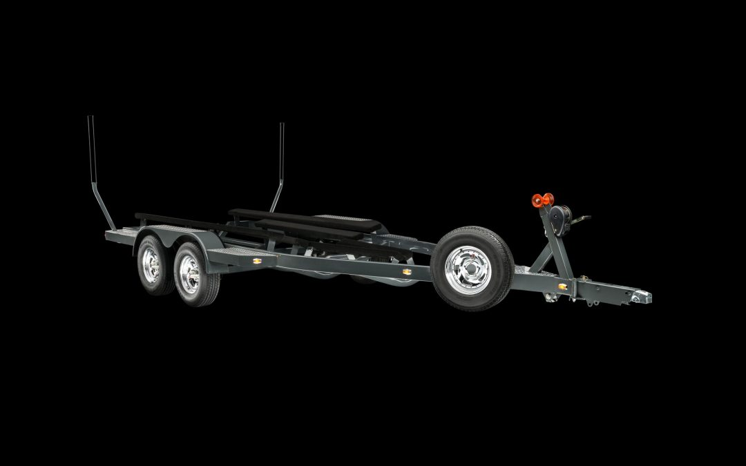 Std Trailer w/Steel Wheels and Optional Spare Tire w/Side Carrier