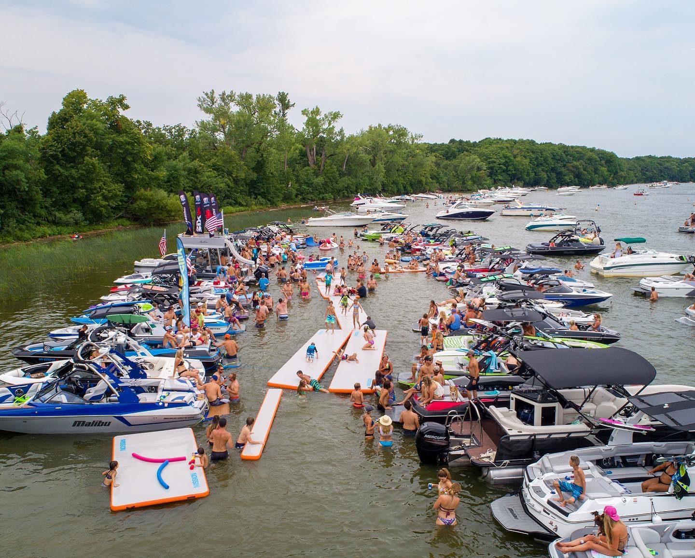 Minnesota Inboard Family Reunion Tie-Up