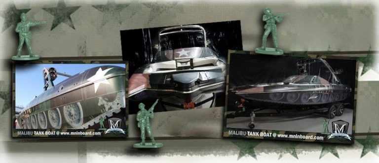 Jared Allen H4WW Custom Tank Boat